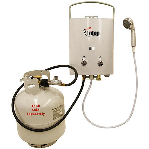 Gas shower heater