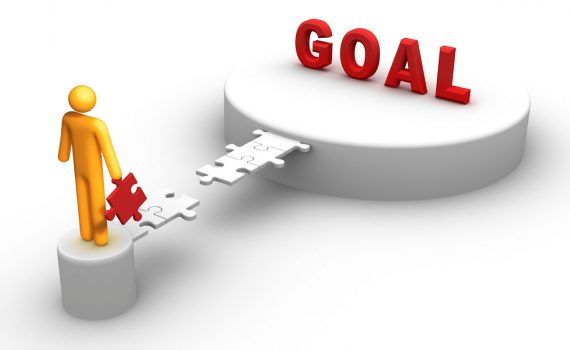 Figure about to achieve goal