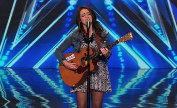 nervous Singer Delivers Stunning Performance